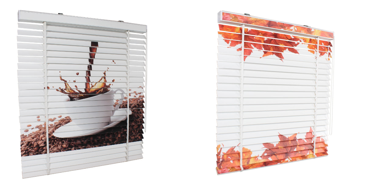 Custom Printed Venetian Blinds