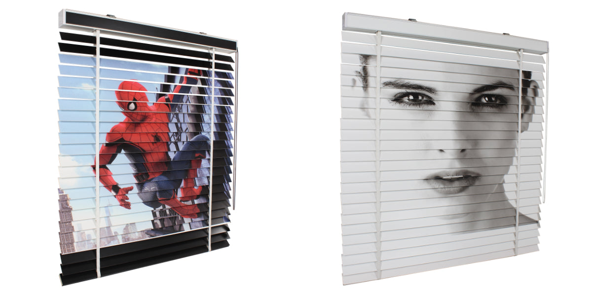 Printed Timber Venetian Blinds