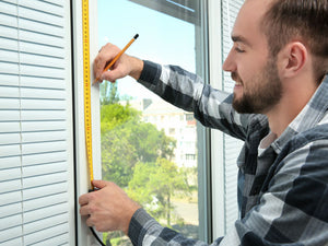 window blinds measuring guide