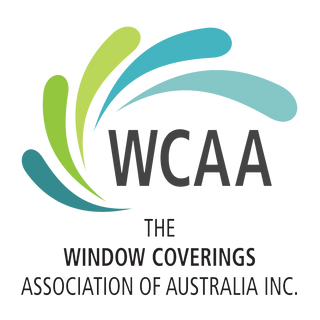Window coverings association of australia WCAA logo