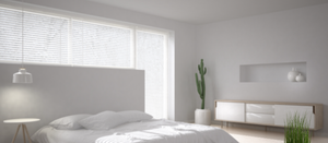 White Triple Shade Roller Blinds