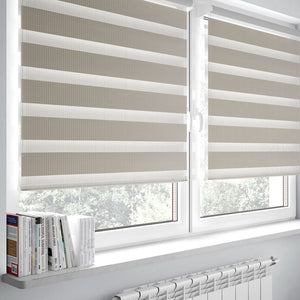 Combi Beige Zebra Blinds