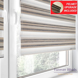 Basalt Silk - Zebra Blinds