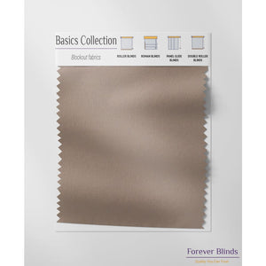 Basics Brown - Panel Blinds