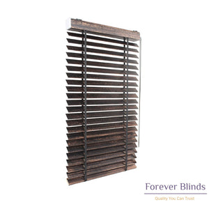 Black Copper Matte Timber Venetian Blinds