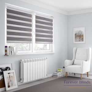 Blockout Grey - Zebra Blinds