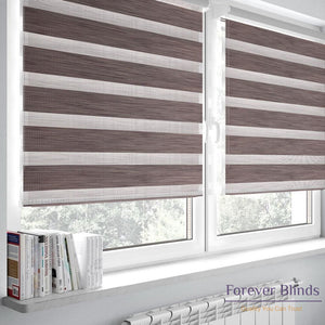 Blockout Sand Brown - Zebra Blinds