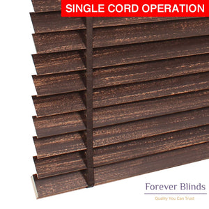 Brown Copper Matte Timber Venetian Blinds