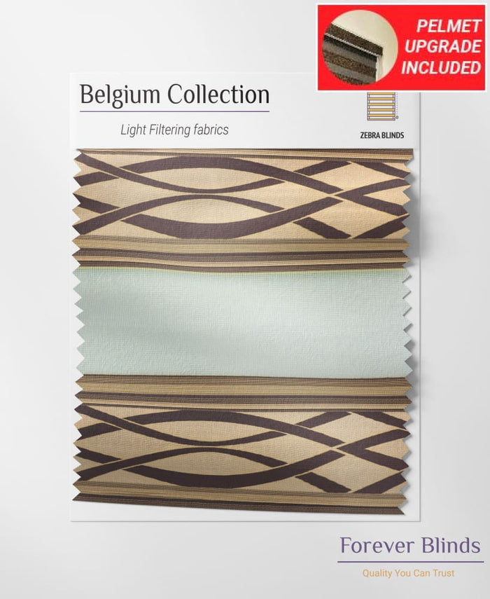 Brown Spiral - Belgium Design