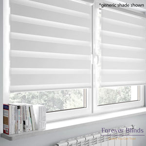 Brown Spiral - Zebra Blinds