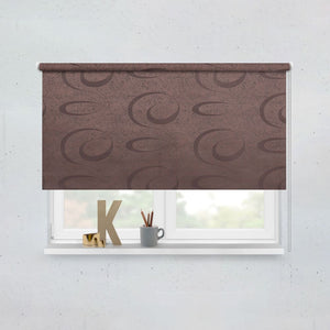 Choco Black Roller Blinds