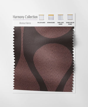 Choco Thunder Roman Blinds
