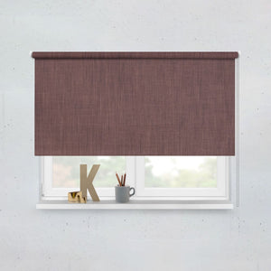 Chocolate Roller Blinds