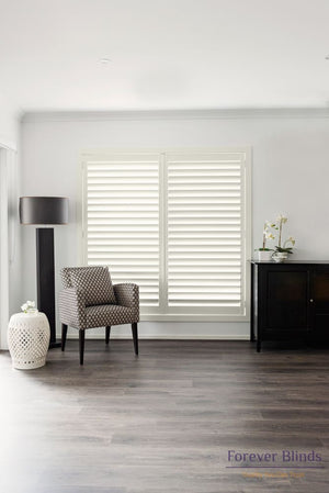 Clotted Cream - Poly Pvc Plantation Shutters
