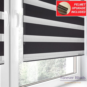 Combi Black - Zebra Blinds