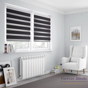 Combi Black Basics Zebra Blinds