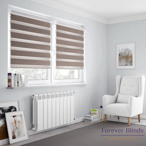 Combi Camel - Zebra Blinds