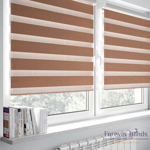 Combi Coffee - Zebra Blinds