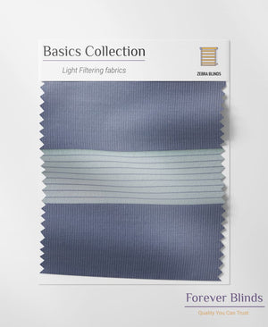 Combi Denim Grey Zebra Blinds