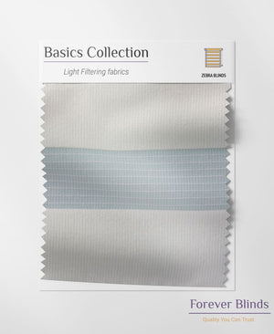 Combi Ivory Basics Zebra Blinds