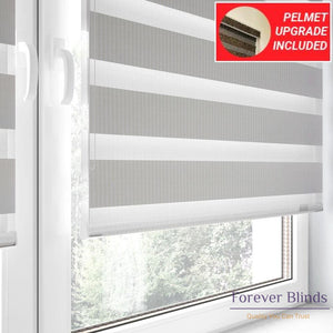 Combi Ivory - Zebra Blinds