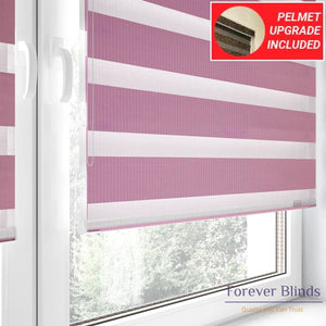 Combi Pink - Zebra Blinds
