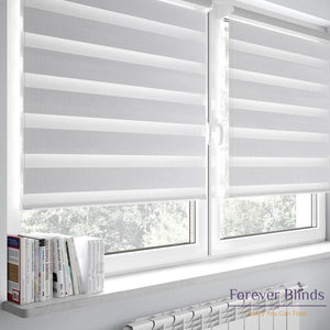 Combi White - Zebra Blinds
