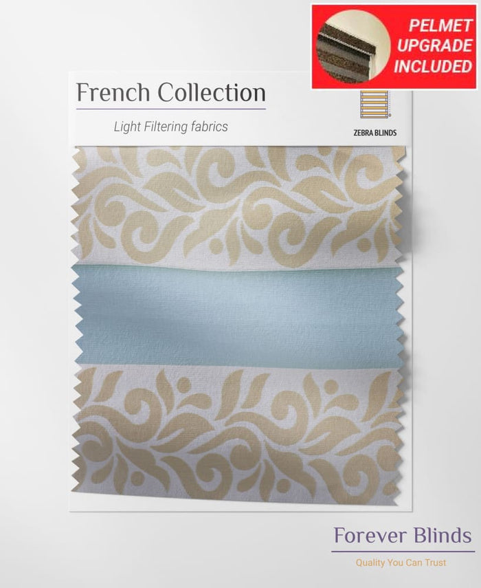 Cream / Pale Gold - French Provincial