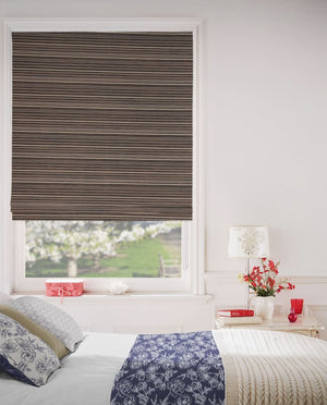 Dull Gold Roman Blinds