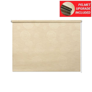 English Oak Roller Blinds