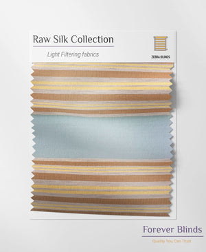 Golden Silk - Zebra Blinds