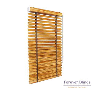 Golden Oak Timber Venetian Blinds
