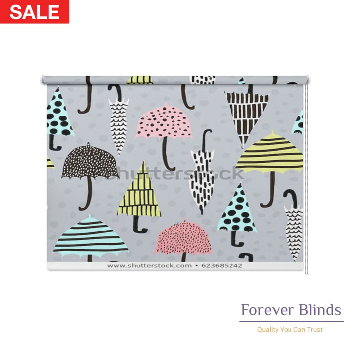 Hand Drawn Patterns Blockout Roller Blind
