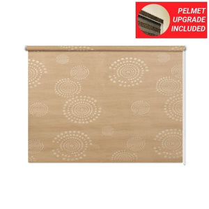 Harvest Gold Roller Blinds