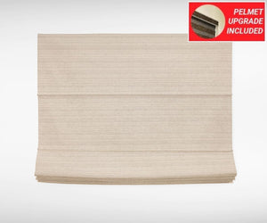 Hazelnut Roman Blinds