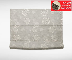 Koala Grey Roman Blinds