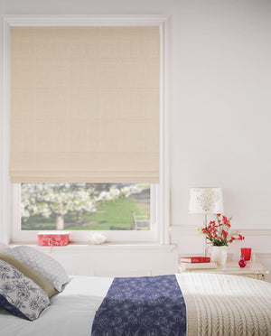Latte Roman Blinds