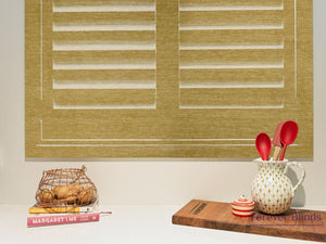 Light Oak - Timber Stained Plantation Shutters
