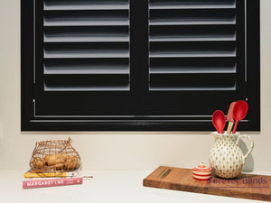 Night Sky Black - Aluminium Plantation Shutters