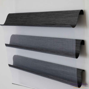Sheer Charcoal - Triple Shade Roller Blinds