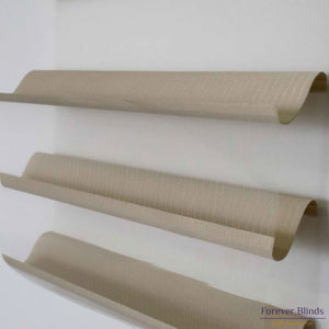 Sheer Dark Beige - Triple Shade Roller Blinds