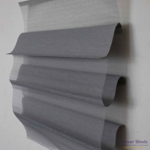 Sheer Grey - Triple Shade Roller Blinds