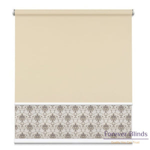 Sheer Pebble - Blockout Sand Double Roller Blind Blinds