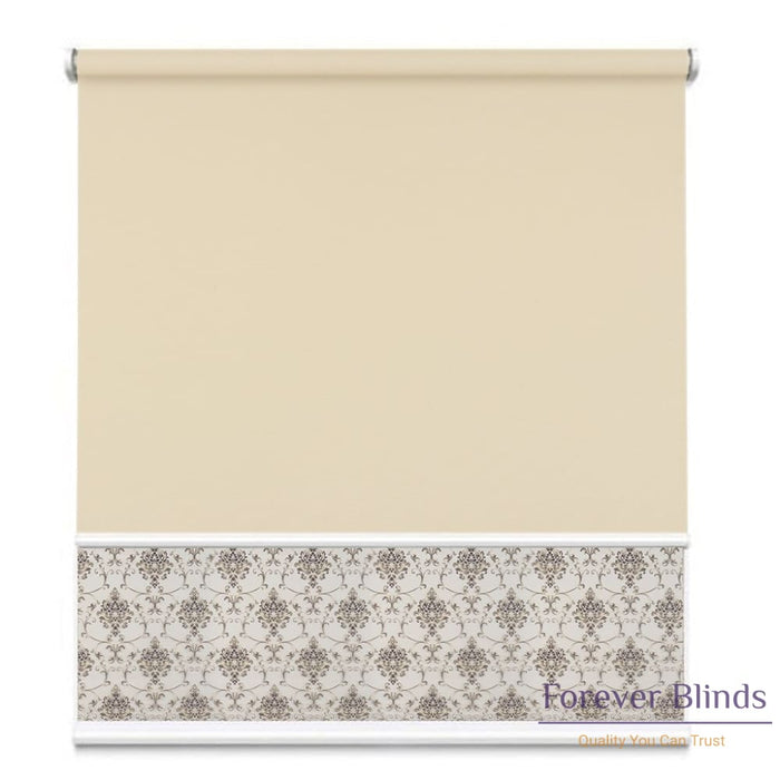 Sheer Pebble - Blockout Sand Double Roller Blind