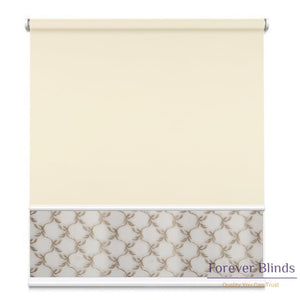Sheer Soft Beige - Blockout Double Roller Blind Blinds