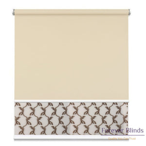 Sheer Soft Caramel - Blockout Sand Double Roller Blind Blinds