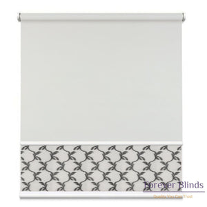Sheer Soft Grey - Blockout Cool Double Roller Blind Blinds