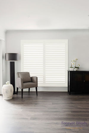 Shell White - Poly Pvc Plantation Shutters