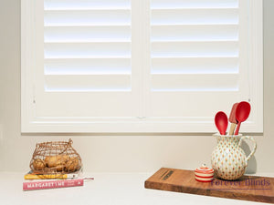 Silk White - Poly Pvc Plantation Shutters