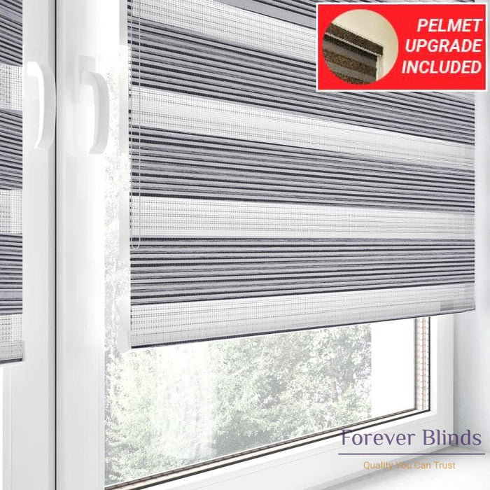 Silver Grey Stripes